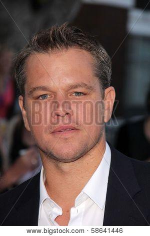 Matt Damon at the