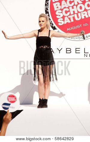 Perrie Edwards at Teen Vogue's Back-To-School Saturday Kick-Off Event, The Grove, Los Angeles, CA 08-09-13