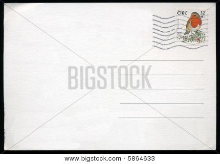 leere Postkarte aus Irland