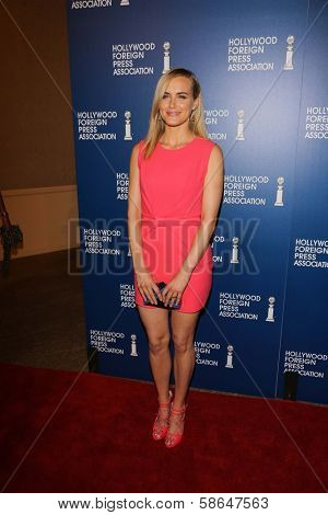 Taylor Schilling at the Hollywood Foreign Press Association's 2013 Installation Luncheon, Beverly Hilton, Beverly Hills, CA 08-13-13