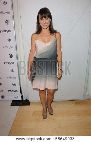 Constance Zimmer at the 12th Annual InStyle Summer Soiree, Mondrian, West Hollywood, CA 08-14-13