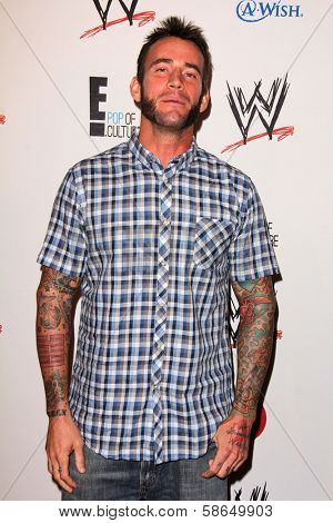 CM Punk at Superstars for Hope honoring Make-A-Wish, Beverly Hills Hotel, Beverly Hills, CA 08-15-13