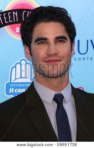 Darren Criss at the 2013 Teen Choice Awards Arrivals, Gibson Amphitheatre, Universal City, CA 08-11-13