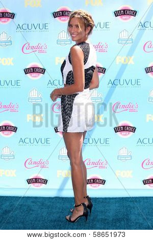 Renee Bargh at the 2013 Teen Choice Awards Arrivals, Gibson Amphitheatre, Universal City, CA 08-11-13