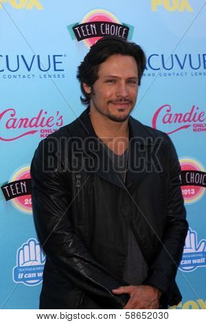 Nick Wechsler at the 2013 Teen Choice Awards Arrivals, Gibson Amphitheatre, Universal City, CA 08-11-13
