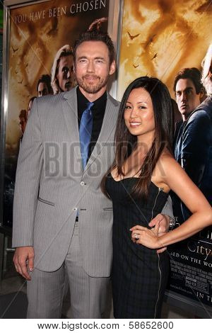 Kevin Durand, Sandra Cho at the