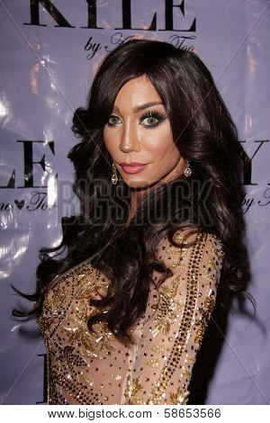 Yasmine Petty at the Have Faith Swimgerie By Lilly Ghalichi And Jennifer Stano David 2014 Collection Preview, Kyle By Alene Too, Beverly Hills, CA 08-20-13