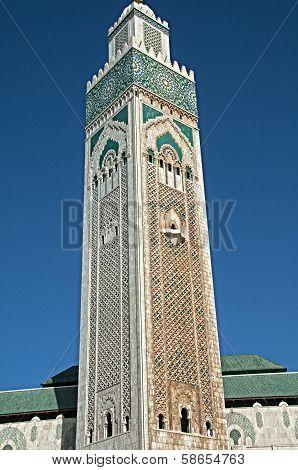 El Hassim Ii Mosque Tower