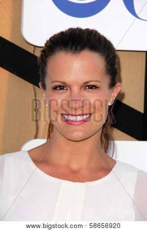 Melissa Claire Egan at the CBS, Showtime, CW 2013 TCA Summer Stars Party, Beverly Hilton Hotel, Beverly Hills, CA 07-29-13