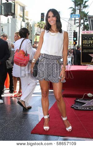 Jordana Brewster at the Vin Diesel Star on the Hollywood Walk of Fame Ceremony, Hollywood, CA 08-26-13