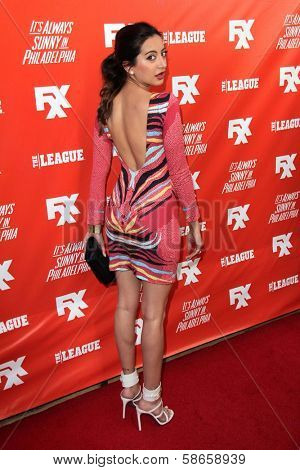 Noureen DeWulf at the FXX Network Launch Party and