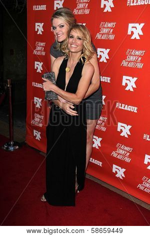 Missi Pyle and Shawnee Smith at the FXX Network Launch Party and