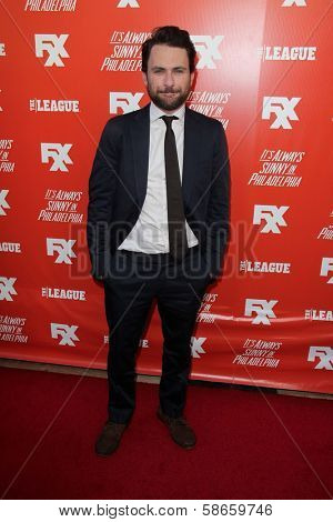 Charlie Day at the FXX Network Launch Party and
