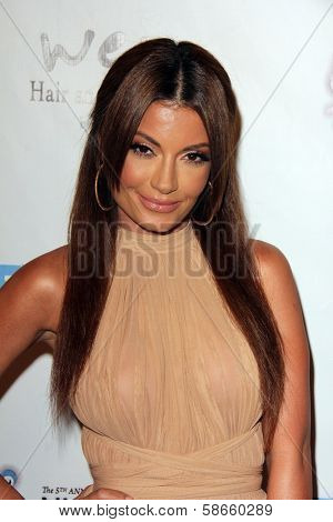 Layla Kayleigh at the 5th Annual Night of Generosity, Beverly Hills Hotel, Beverly Hills, CA 09-06-13