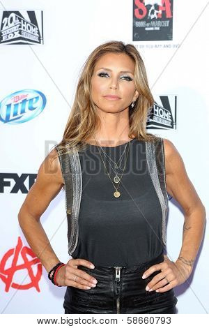 Charisma Carpenter at the