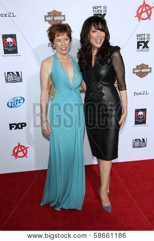 McNally Sagal and Katey Sagal at the