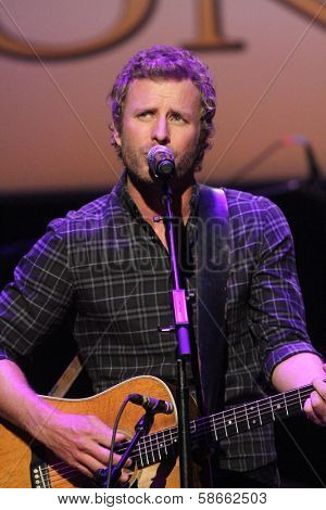 Dierks Bentley at the 7th Annual ACM Honors, Ryman Auditorium, Nashville, TN 09-10-13