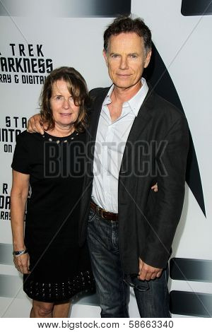 Bruce Greenwood and wife at the