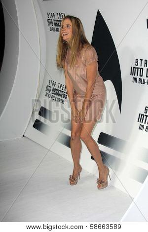 Mira Sorvino at the