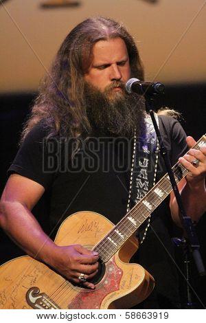 Jamey Johnson at the 7th Annual ACM Honors, Ryman Auditorium, Nashville, TN 09-10-13