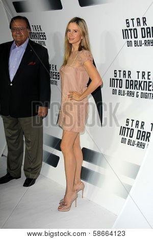 Paul Sorvino and Mira Sorvino at the