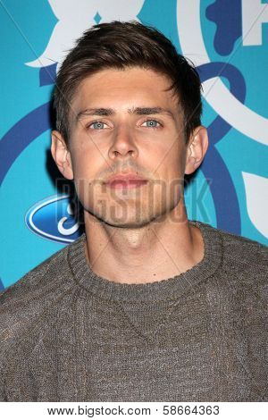 Chris Lowell at the 2013 FOX Fall Eco-Casino Party, The Bungalow, Santa Monica, CA 09-09-13