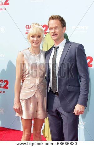 Anna Faris and Neil Patrick Harris at the