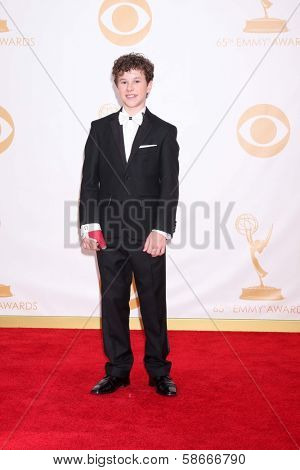 Nolan Gould at the 65th Annual Primetime Emmy Awards Arrivals, Nokia Theater, Los Angeles, CA 09-22-13