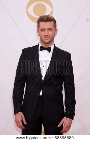 Travis Wall at the 65th Annual Primetime Emmy Awards Arrivals, Nokia Theater, Los Angeles, CA 09-22-13