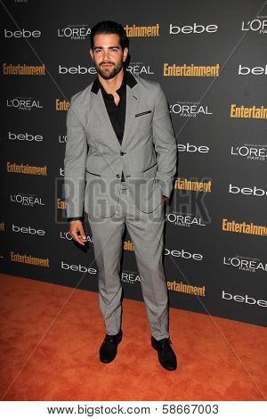 Jesse Metcalfe at the 2013 Entertainment Weekly Pre-Emmy Party, Fig& Olive, Los Angeles, CA 09-20-13