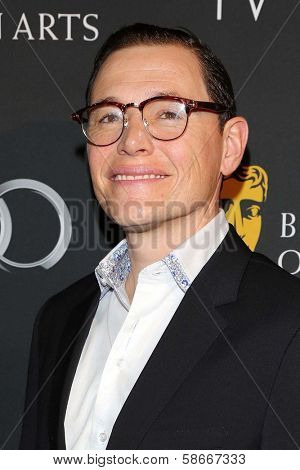 Bum Gorman at the BAFTA Los Angeles TV Tea 2013, SLS Hotel, Beverly Hills, CA 09-21-13