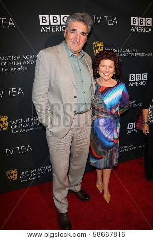 Imelda Staunton at the BAFTA Los Angeles TV Tea 2013, SLS Hotel, Beverly Hills, CA 09-21-13