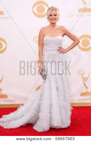 Malin Akerman at the 65th Annual Primetime Emmy Awards Arrivals, Nokia Theater, Los Angeles, CA 09-22-13