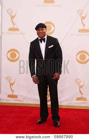 LL Cool J at the 65th Annual Primetime Emmy Awards Arrivals, Nokia Theater, Los Angeles, CA 09-22-13