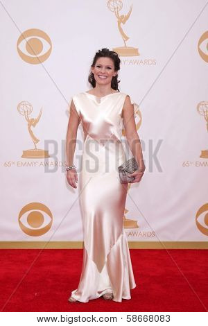 Bonnie Bentley at the 65th Annual Primetime Emmy Awards Arrivals, Nokia Theater, Los Angeles, CA 09-22-13