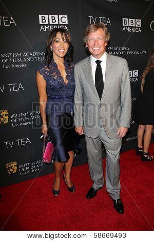 Nigel Lythgoe at the BAFTA Los Angeles TV Tea 2013, SLS Hotel, Beverly Hills, CA 09-21-13
