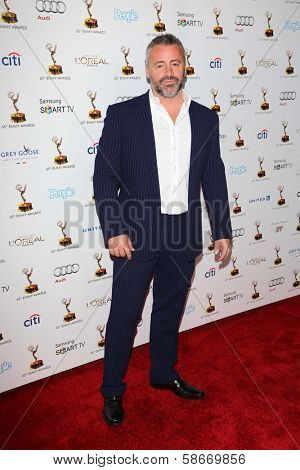 Matt LeBlanc at the 65th Annual Emmy Awards Performers Nominee Reception, Pacific Design Center, West Hollywood, CA 09-20-13