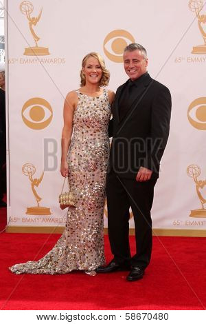 Matt LeBlanc at the 65th Annual Primetime Emmy Awards Arrivals, Nokia Theater, Los Angeles, CA 09-22-13