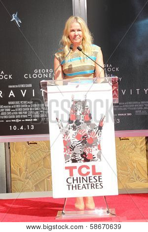 Chelsea Handler at the Sandra Bullock Hand And Footprint Ceremony, Chinese Theater, Hollywood, CA 09-25-13