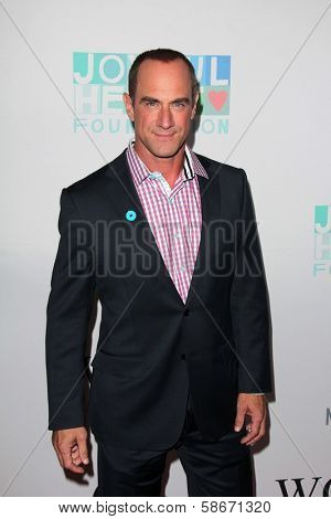 Christopher Meloni at the Joyful Heart Foundation celebrates the No More PSA Launch, Milk Studios, Los Angeles, CA 09-26-13