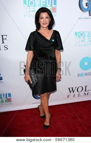 Shohreh Aghdashloo at the Joyful Heart Foundation celebrates the No More PSA Launch, Milk Studios, Los Angeles, CA 09-26-13