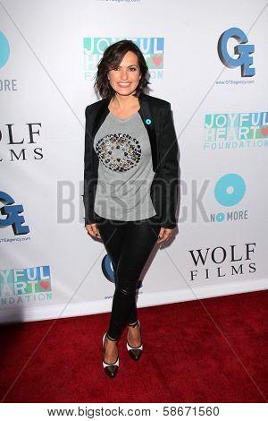 Mariska Hargitay at the Joyful Heart Foundation celebrates the No More PSA Launch, Milk Studios, Los Angeles, CA 09-26-13