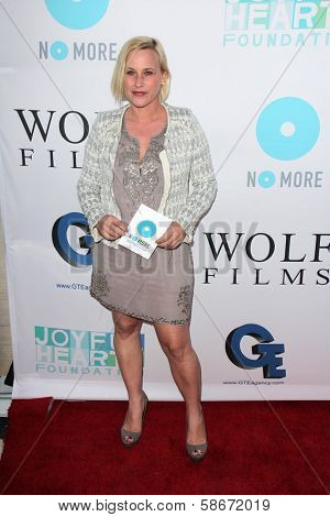 Patricia Arquette at the Joyful Heart Foundation celebrates the No More PSA Launch, Milk Studios, Los Angeles, CA 09-26-13