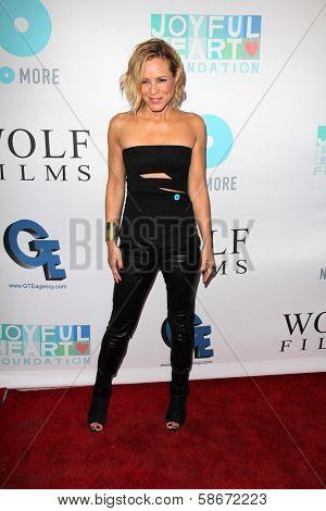 Maria Bello at the Joyful Heart Foundation celebrates the No More PSA Launch, Milk Studios, Los Angeles, CA 09-26-13