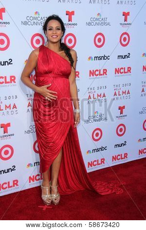 Dania Ramirez at the 2013 NCLR ALMA Awards Arrivals, Pasadena Civic Auditorium, Pasadena, CA 09-27-13