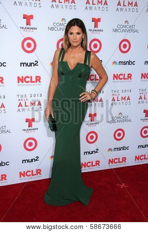 Daisy Fuentes at the 2013 NCLR ALMA Awards Arrivals, Pasadena Civic Auditorium, Pasadena, CA 09-27-13