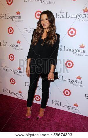 Kate Beckinsale at the Eva Longoria Foundation Dinner, Beso, Hollywood, CA 09-29-13