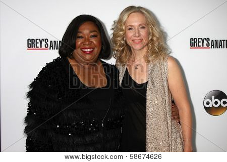 Shonda Rhimes and Betsy Beers at the