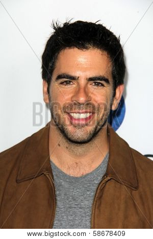 Eli Roth at the