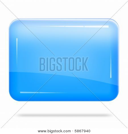 Blank Blue Board Float